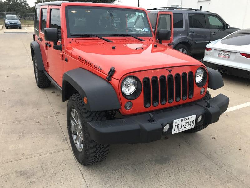 Photo Used 2015 Jeep Wrangler Unlimited For Sale in San Antonio TX  1C4BJWFG8FL632507