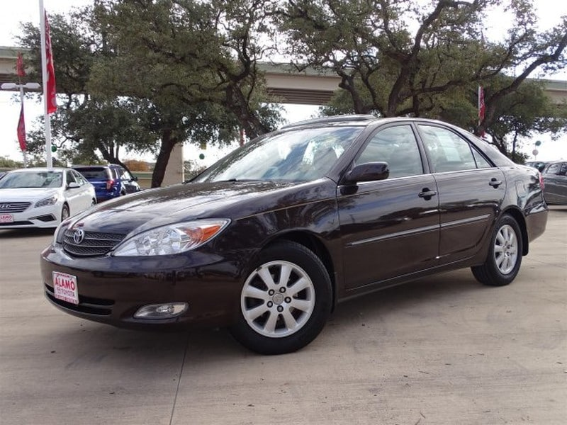 Photo Used 2003 Toyota Camry For Sale in San Antonio TX  4T1BE32K53U721031