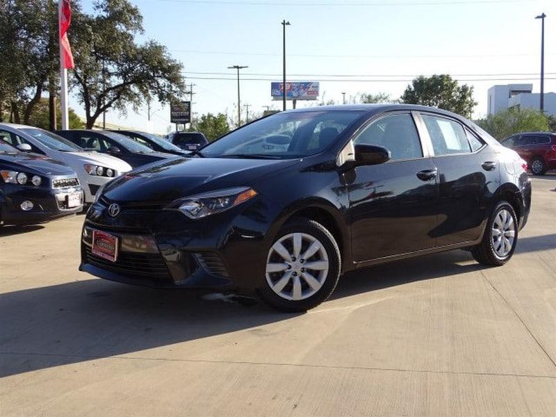Photo Used 2016 Toyota Corolla For Sale  San Antonio TX  VIN 5YFBURHE5GP472602