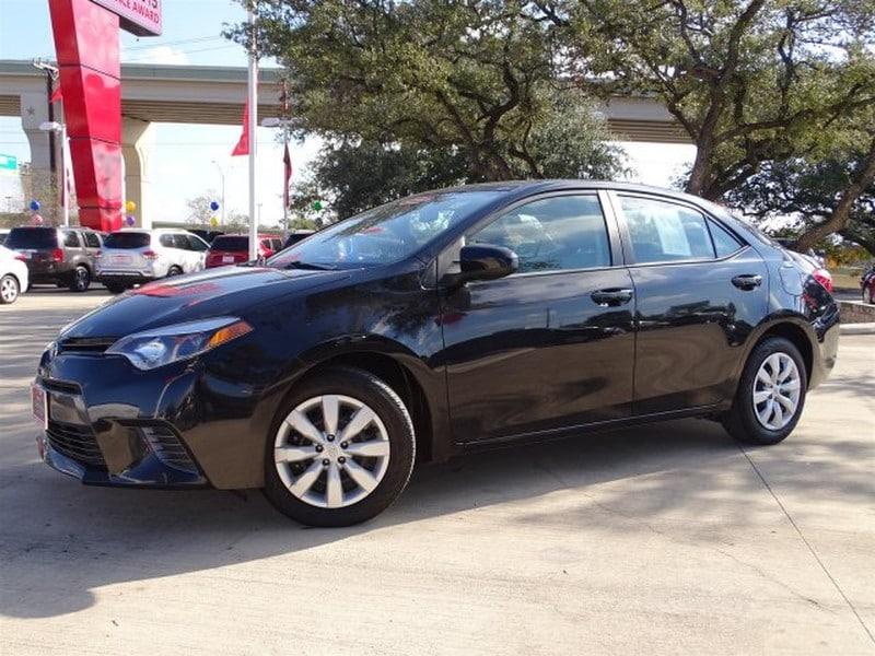 Photo Used 2015 Toyota Corolla For Sale  San Antonio TX  VIN 5YFBURHE1FP237290