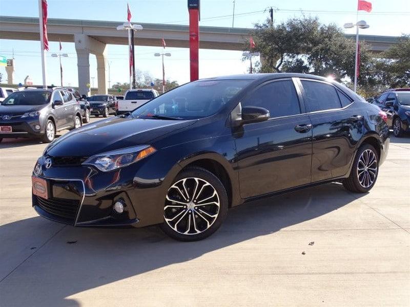 Photo Used 2014 Toyota Corolla For Sale  San Antonio TX  VIN 5YFBURHE8EP109207
