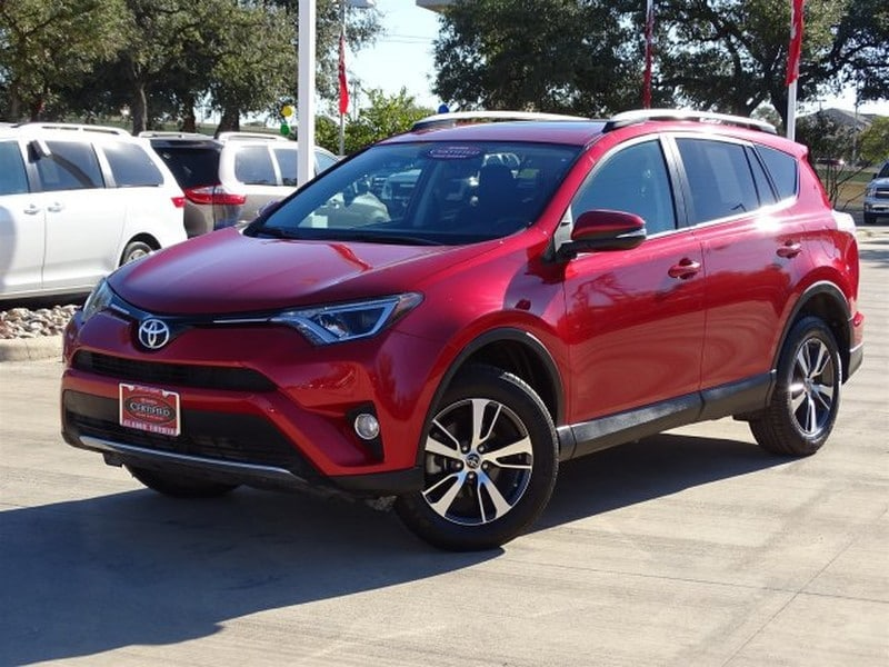 Photo Used 2016 Toyota RAV4 For Sale  San Antonio TX  VIN 2T3RFREVXGW441834