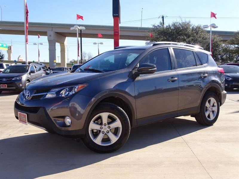 Photo Used 2014 Toyota RAV4 For Sale  San Antonio TX  VIN 2T3WFREV1EW104369