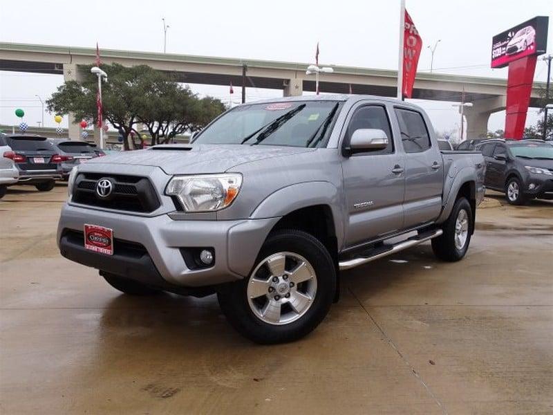 Photo Used 2014 Toyota Tacoma For Sale  San Antonio TX  VIN 3TMJU4GN6EM156811
