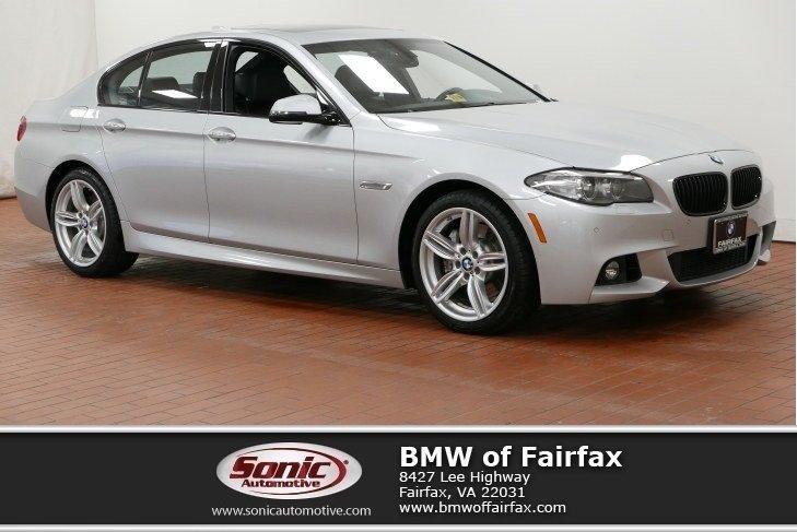 Photo Certified Used 2015 BMW 5 Series in Fairfax, VA