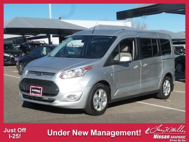 Photo Used 2014 Ford Transit Connect Titanium wRear Liftgate For Sale in Peoria, AZ  Serving Phoenix  NM0GE9G79E1155216