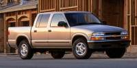Pre-Owned 2004 Chevrolet S-10 Crew Cab 123 WB 4WD LS Four Wheel Drive Pickup Truck