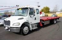 2018 Freightliner M2 Ext Cab Rollback Sidepuller