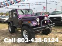 Pre-Owned 1983 Jeep CJ-7 2D Convertible 4WD