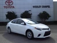 Certified Pre-Owned 2014 Toyota Corolla LE FWD 4D Sedan