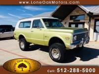 1972 Chevrolet Blazer 4WD
