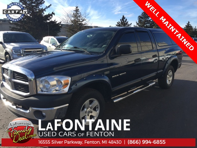 Photo PRE-OWNED 2007 DODGE RAM 1500 TRX4 OFF-ROAD 4WD