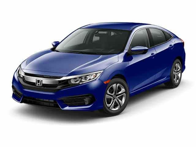 Photo Used 2017 Honda Civic LX Sedan for sale in Barstow CA