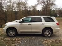 2013 Toyota Sequoia RWD 5.7L Platinum Sport Utility for Sale in Mt. Pleasant, Texas