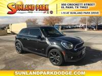 2013 MINI Paceman Cooper S ALL4 Paceman SUV