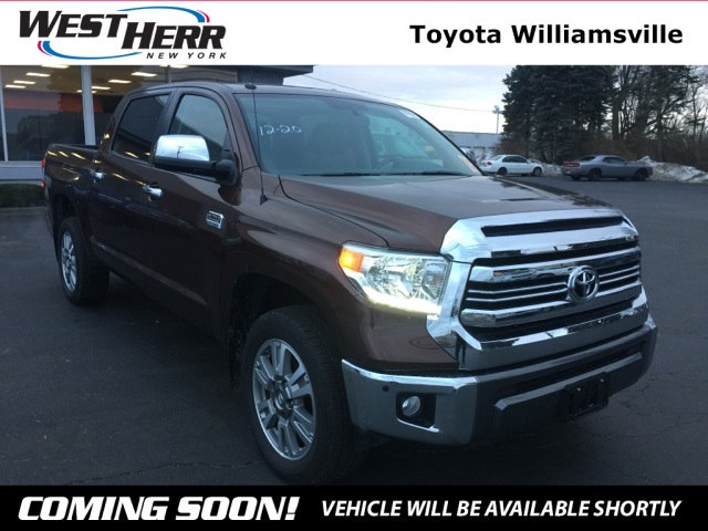 Photo 2017 Toyota Tundra 1794 Truck CrewMax For Sale - Serving Amherst