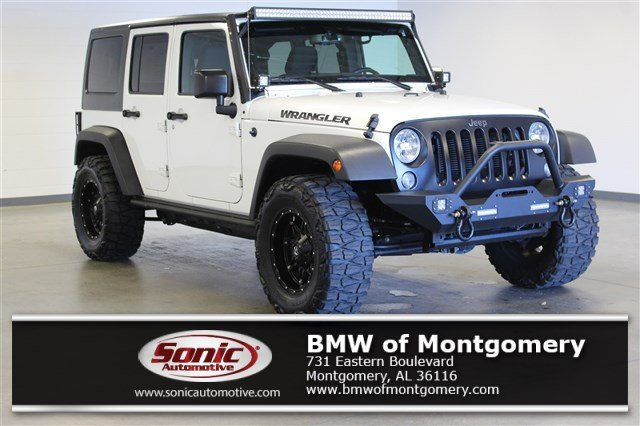 Photo Used 2016 Jeep Wrangler Unlimited Black Bear 4WD 4dr Ltd Avail SUV in Montgomery, AL