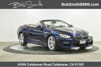 Certified Used 2015 BMW 6 Series 2dr Conv 640i RWD