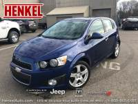 PRE-OWNED 2012 CHEVROLET SONIC LTZ FWD HATCHBACK