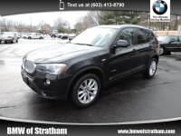 2015 BMW X3 xDrive28i xDrive28i NAVIGATION COLD WEATHER PREMIUM LIGHTING SAV All-wheel Drive