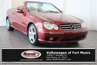 Used 2005 Mercedes-Benz CLK-Class 5.0L 2dr Cabriolet Convertible in Fort Myers