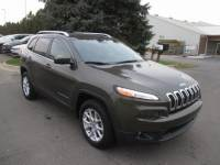 CERTIFIED PRE-OWNED 2015 JEEP CHEROKEE LATITUDE 4WD
