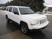 CERTIFIED PRE-OWNED 2015 JEEP PATRIOT HIGH ALTITUDE 4WD
