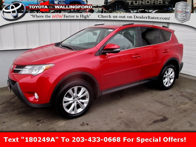 Photo Certified Used 2015 Toyota RAV4 Limited For Sale in Wallingford CT  2T3DFREV6FW341867