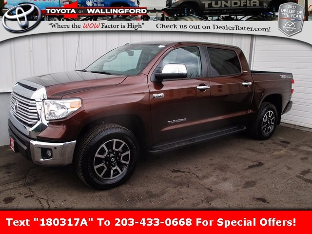 Photo Certified Used 2016 Toyota Tundra Limited For Sale in Wallingford CT  5TFHY5F10GX511878