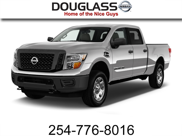 Photo Certified Pre-Owned 2017 Nissan Titan XD S Gas 4x2 Crew Cab 151.6 in. WB Rear Wheel Drive PK