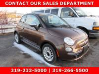 Used 2012 FIAT 500 Lounge HB Lounge for Sale in Waterloo IA