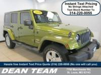 Used 2008 Jeep Wrangler Unlimited Sahara 4WD Unlimited Sahara in St. Louis, MO
