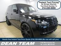 Used 2016 Land Rover Range Rover Supercharged 4WD Supercharged in St. Louis, MO