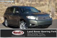 Used 2010 Toyota Highlander Hybrid Limited w/3rd Row 4WD 4dr Limited Natl in Glenwood Springs