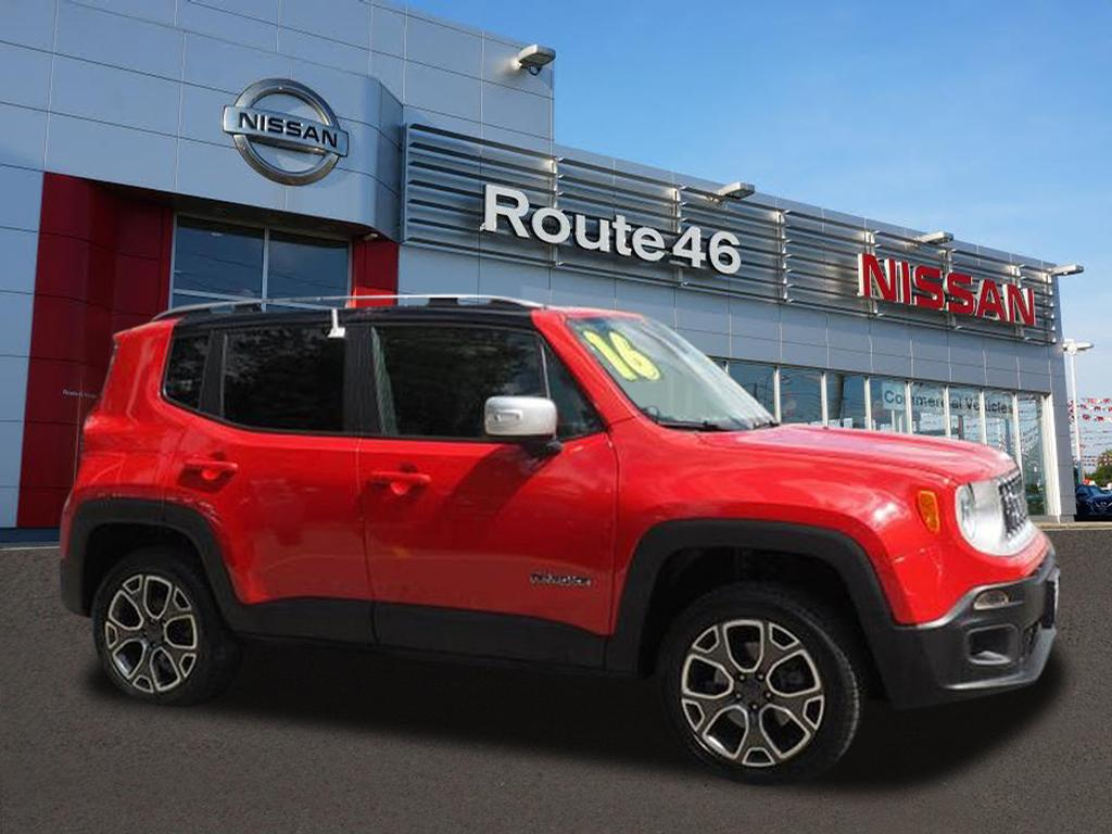 Photo Used 2016 Jeep Renegade Limited 4x4 SUV for sale in Totowa NJ