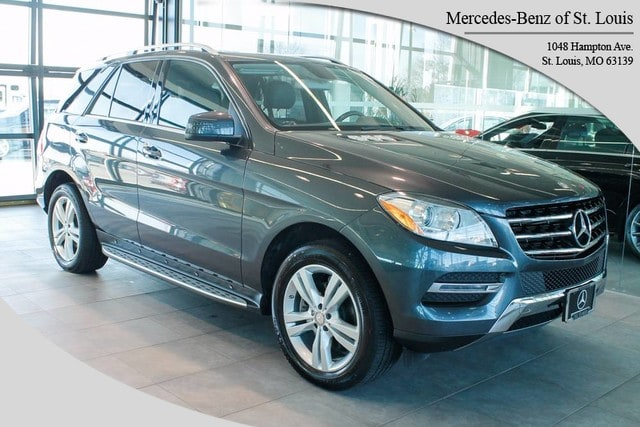 Photo Certified Pre-Owned 2013 Mercedes-Benz M-Class ML 350 4MATIC SUV For Sale St. Louis, MO