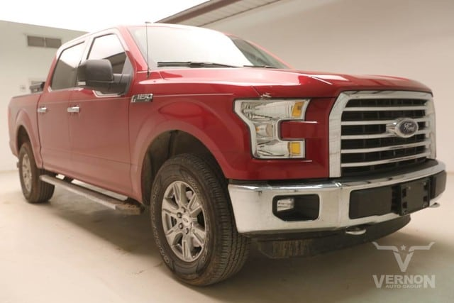 Photo Used 2016 Ford F-150 XLT Texas Edition Crew Cab 4x4 in Vernon TX