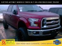 2015 Ford F-150 !Lifted Crew CAB 4X4 LOW Mileage V8! Truck SuperCrew Cab V-8 cyl