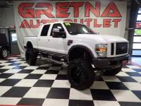 2008 Ford F-250 SD LIFTED LARIAT CREW AUTO DIESEL 4X4 129K LOADED UP!