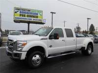 Used 2013 Ford F-450 Lariat 4x4 Crew Cab 8 ft. box 172 in. WB Sedan For Sale Bend, OR