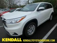 2016 Toyota Highlander LE SUV Front-wheel Drive