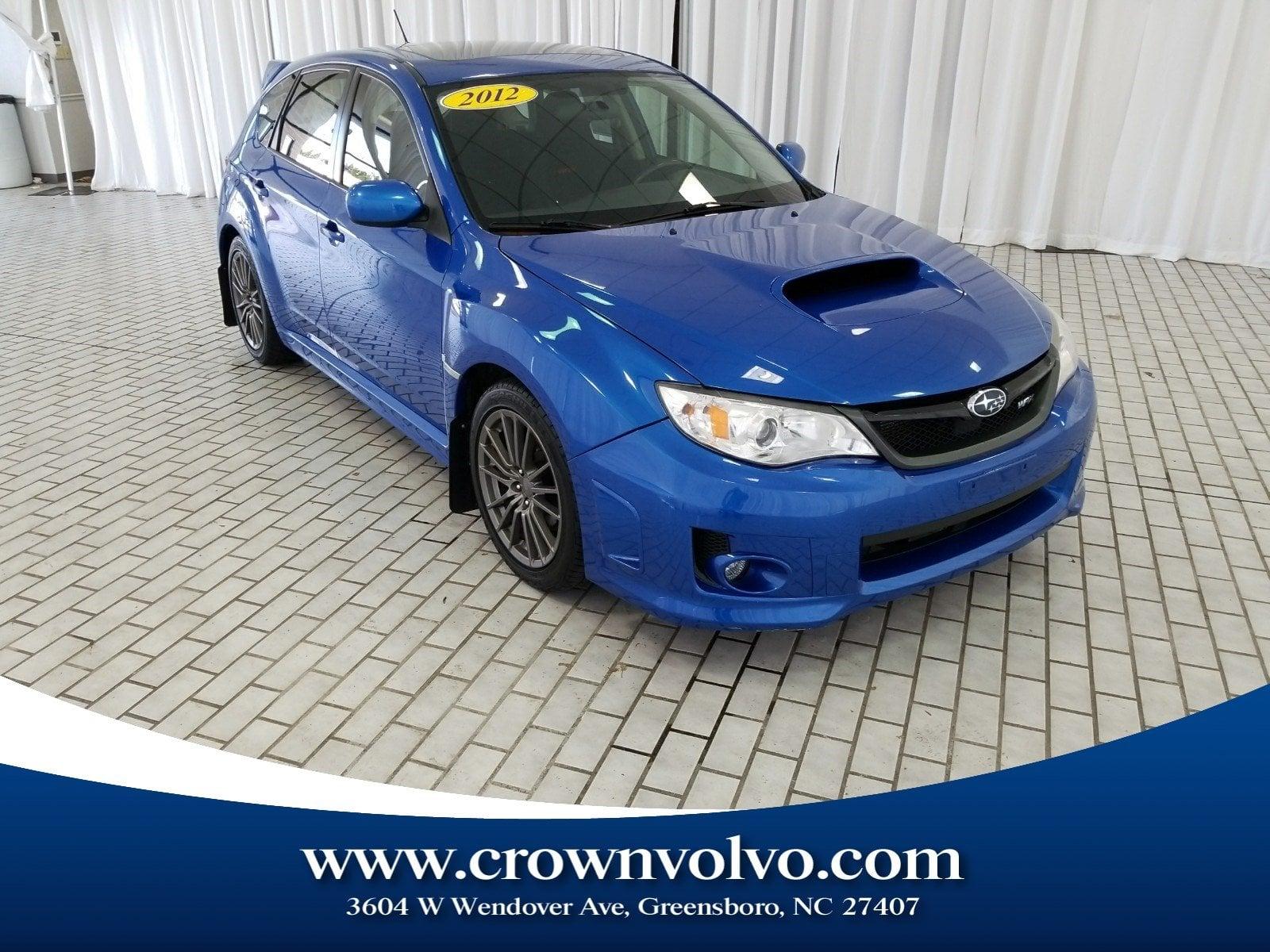 Photo Used 2012 Subaru Impreza WRX For Sale  Greensboro NC  228694