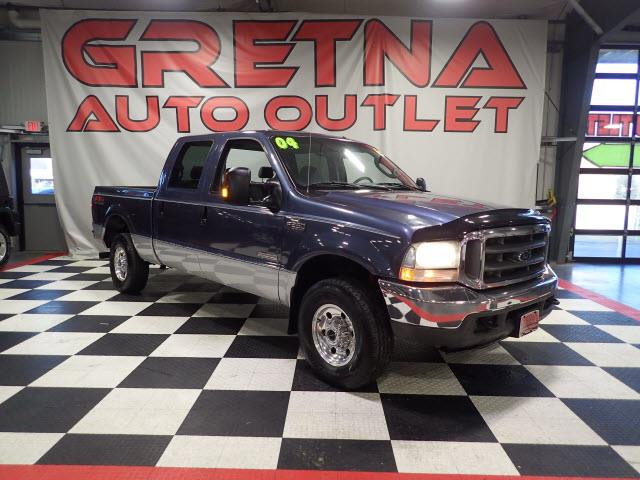 Photo 2004 Ford F-250 SD XLT CREW CAB AUTO POWER STROKE TURBO DIESEL 4X4