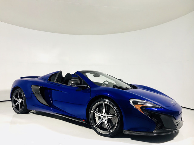 Photo 2015 McLaren 650S Spider  Full Carbon Int  Ext  Meridian  Rear Camera  Like New  16 Rear Wheel Drive Convertible