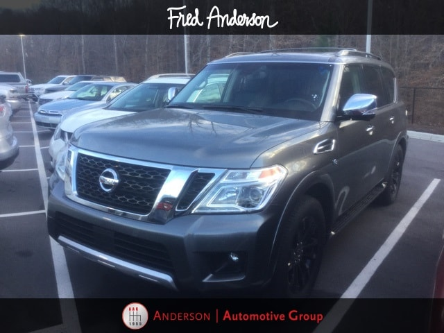 Photo Pre-Owned 2017 Nissan Armada Platinum SUV For Sale  Raleigh NC