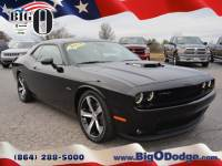 Certified Pre-Owned 2015 Dodge Challenger R/T Plus Shaker Coupe in Greenville, SC