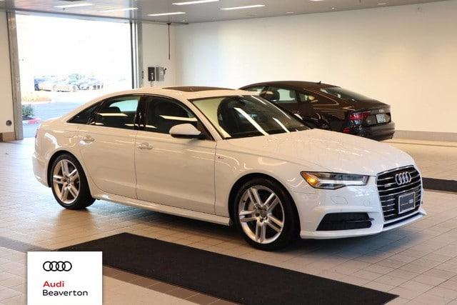 Photo Certified Pre-Owned 2017 Audi A6 2.0T Sedan for Sale in Beaverton,OR