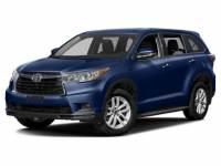 2016 Toyota Highlander XLE V6 SUV AWD