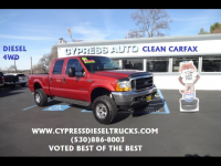 2001 Ford F-250 SD Lariat Crew Cab Short Bed 4WD