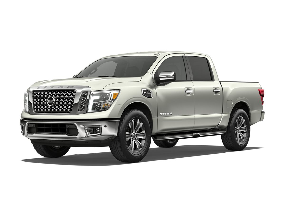 Photo Certified Pre-Owned 2017 Nissan Titan SL With Navigation  4WD